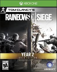 Buy Rainbow Six Siege Gold Amazon Com Tom Clancy S Rainbow Six Siege Year 2 Gold Edition