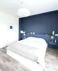 chambre bleu marine chambre bleu marine peindre un mur en bleu foncac pour booster sa