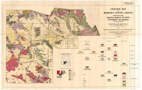 Map Of Arizona Cities by Related Survey Resources Maricopa County Az