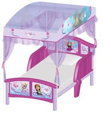 Frozen Canopy Bed Licensed Disney Frozen Elsa Toddler Bed With Canopy 15