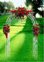 wedding arches decorated with flowers arch wedding florist for las vegas nv