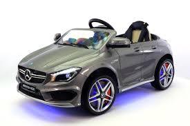 toddler battery car mercedes cla45 12v kids ride on car mp3 usb player battery powered