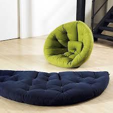 futon azur fauteuil futon int礬rieur d礬co