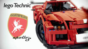 peugeot lego lego technic gumpert apollo s youtube