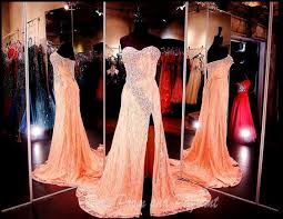 strapless pink lace long dress prom dresses atlanta prom