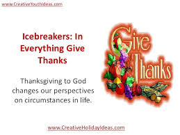icebreakers in everything give thanks