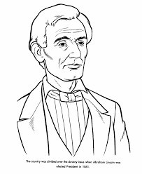 bluebonkers us presidents coloring pages president abraham