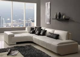 Left Sectional Sofa Collection Modern Sectional Sofa White Tos Rf 1007 White Brilliant