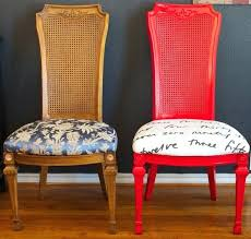 Design Ideas For Chair Reupholstery How To Reupholster Furniture Dining Room Chair Reupholstering For