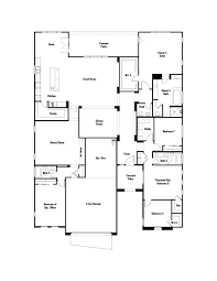 Rectangle Floor Plans Whistler Floor Plan At Eastmark Summit Collection In Mesa Az