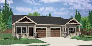 new one story house plans one level duplex house plans corner lot duplex plans narrow lot