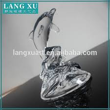 classic clear dolphin design glass ornaments clear glass ornaments