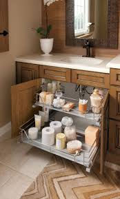 bathroom cabinets under sink sliding organizer pantry drawers