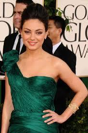 Hochsteckfrisurenen Vorne by Die Frisuren Mila Kunis Golden Globes 2011