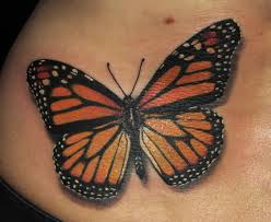 5 beautiful monarch butterfly tattoo designs