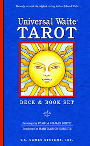 universal waite tarot deck and book set arthur edward waite