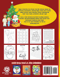 christmas activity book for kids reproducible games worksheets