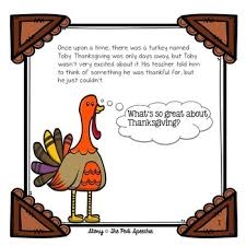 turkey that wasn t thankful speech and language thanksgiving story