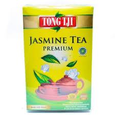 Teh Melati tong tji premium tea 250 gram teh tubruk hijau melati