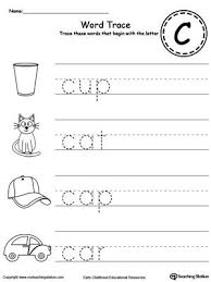 free printable word tracing sheets 82 best writing letters words tracing images on pinterest