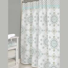 Gray Paisley Shower Curtain by Camden Medallion Shower Curtain By Dena Home