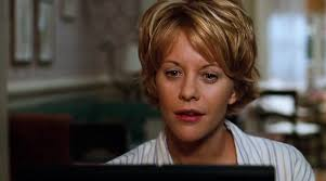 meg ryans hairstyle inthe movie youv got mail the three little words you ve got mail i got a mail from you