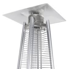 ceiling patio heater 42 000 btu stainless steel patio heater outdoor pyramid propane