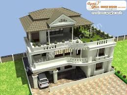 Multi Family House Plans Triplex 4 Bedroom Modern Triplex 3 Floor House Design Area 234 Sq Mts