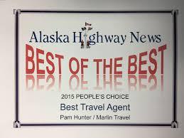 Alaska travel agent training images Pam hunter fort st john 100th street travel consultant jpeg