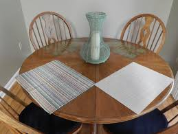 placemats for round table table runner and placemats for round kitchen table