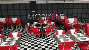 mobilier diner americain agencement d u0027un bowling rétro américain à colomiers toulouse