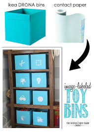 Ikea Storage Bins by Image Labeled Toy Bins The Homes I Have Made