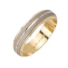 wedding ring depot 14k two tone gold two stripes unique band 5mm 3000264 shop at