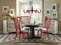 hooker furniture dining room sanctuary round aluminum dining table