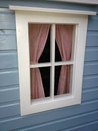 Playhouse Curtains Double Playhouse With Connecting Archway Playhouses The