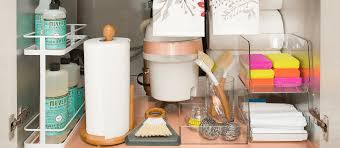 Under The Kitchen Sink Organization by Spring Cleaning Under The Sink Mrs Meyer U0027s