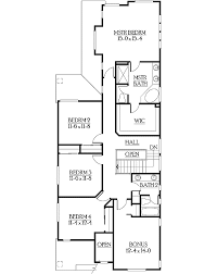 craftsman floorplans craftsman house plan with garage exterior option 23102jd