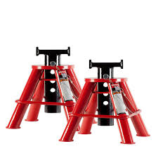 Husky 2 Ton Jack by Big Red 2 Ton Steel Jack Stands 2 Pack T42002 The Home Depot