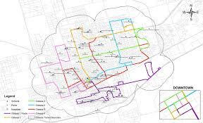 Houston Metro Bus Map by Ezrider Odessa Maps