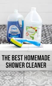 Clean Soap Scum From Shower Door by The Best Homemade Shower Cleaner Try The Best 2 Ingredient