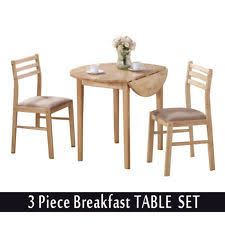 Small Drop Leaf Table With 2 Chairs Drop Leaf Kitchen Table Ebay