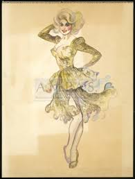 theadora van runkle the best little whorehouse in texas costume design drawings van