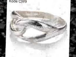 cincin online pesan cincin perak wanita online harga murah model variatif