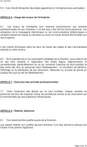 Annexe Iii Modèle D Arrêté Emportant Blâme Les Reglement Interieur Preambule Pdf