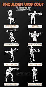 Great Shoulder - best 25 delts workout ideas on best pec workout