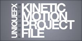 kinetic motion by uniquefx videohive