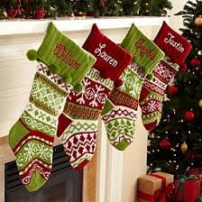 knit argyle snowflake personalized