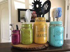 Glass Canisters Kitchen by Mason Glass Kitchen Canisters U0026 Jars Ebay