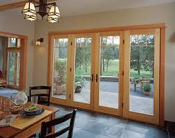 Wood Patio Doors Jeld Wen Patio Doors Look Houston Transitional Dining Room