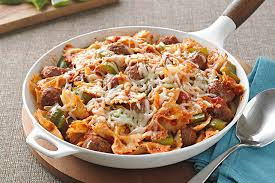 italian sausage and pasta bow ties kraft recipes